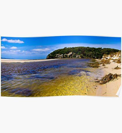 Wilson Inlet - Sand Bar Open Poster