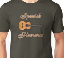 Spanish Flamenco Guitar Unisex T-Shirt