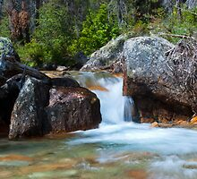 Redfish Creek Waterfall by Jim Terry