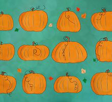 pumpkins by puppaluppa