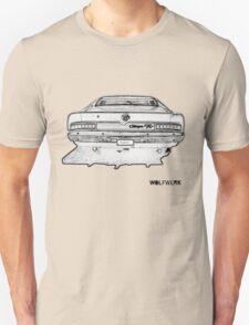 Australian muscle car R/T Valiant Charger back side Unisex T-Shirt