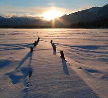 Winter sunset by zumi