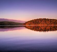 """""""Mirrored Formation-Nornalup Inlet"""" by Heather Thorning"""