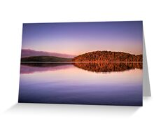 """""""Mirrored Formation-Nornalup Inlet"""" Greeting Card"""