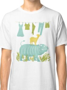 Humphrey the Hippo and the Cameroon Mountain Goat Classic T-Shirt