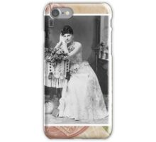 Steampunk Victorian Floral Corset iPhone Case/Skin