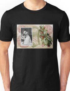 Steampunk Victorian Floral Corset Unisex T-Shirt