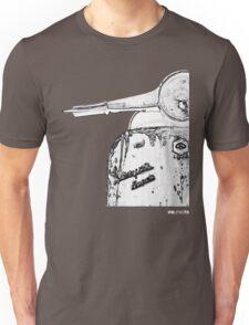 Vespa Super 1960 Piaggio front black Unisex T-Shirt