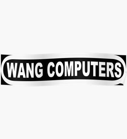 Wang Computers Poster