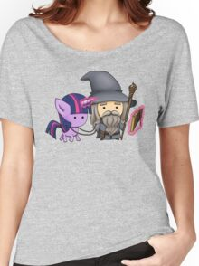 Gandalf the grey & Twilight Sparkle Women's Relaxed Fit T-Shirt