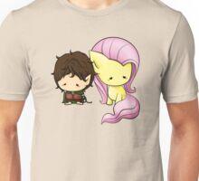 Frodo & Fluttershy Unisex T-Shirt