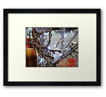 Preparing for Christmas Framed Print
