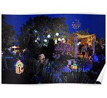 The Christmas Lights Winner For 2009. Brisbane, Queensland, Australia. Poster