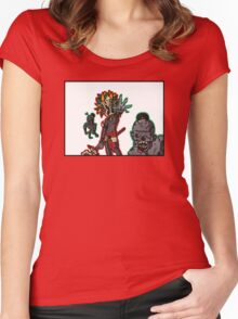 Horrific God of Decay Women's Fitted Scoop T-Shirt