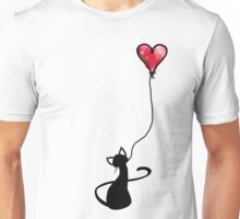 Kitty love Unisex T-Shirt