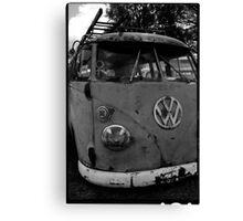 Rusty (VW) Bus Canvas Print