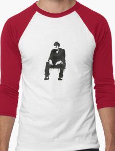 Sitting on hard times  Men's Baseball ¾ T-Shirt