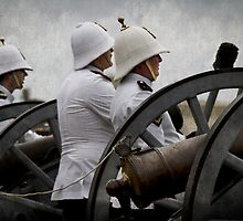 Manning the Guns by gmpepprell