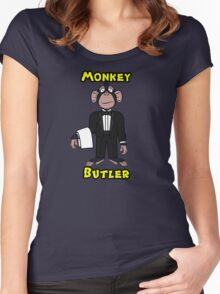 Monkey Butler Women's Fitted Scoop T-Shirt