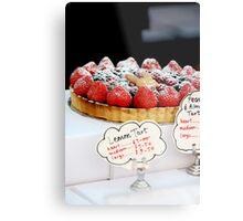 Berry tart Metal Print