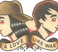 A Love Like War  by desuumbreon