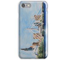 Winnipeg Skyline Watercolour Painting iPhone Case/Skin