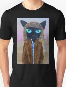 Anderson Tenenbaum black cat  T-Shirt