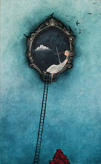 Love is the catch of the day by Amanda  Cass