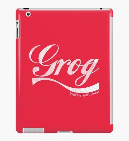 Grog - Mêlée Island's Finest (Inspired by Monkey Island) iPad Case/Skin
