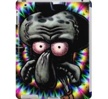 Carlos the grumpy calamar iPad Case/Skin