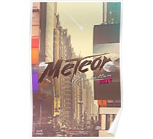 Meteor Manhattan 2019 (Single) Poster