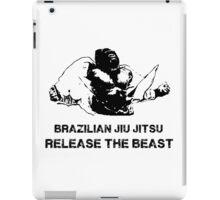 BRAZILIAN JIU JITSU RELEASE THE BEAST iPad Case/Skin