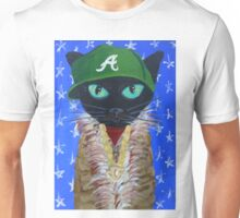 OutKast rapper hip hop Atlanta black cat Unisex T-Shirt