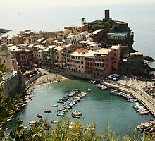 Vernazza View by Camilla