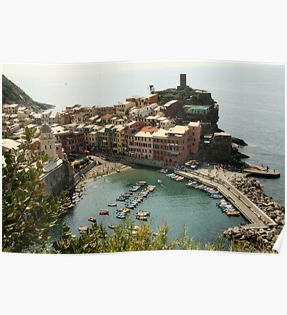 Vernazza View Poster