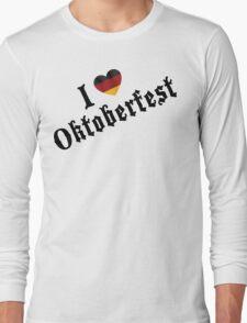 I Love Oktoberfest Long Sleeve T-Shirt