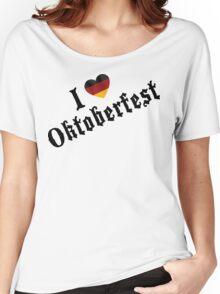 I Love Oktoberfest Women's Relaxed Fit T-Shirt