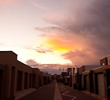 Back Lane Storm by bsn-photography