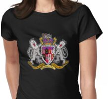 Dark Ages Clan Shield: Ventrue Womens Fitted T-Shirt