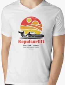 Speeder Classic Mens V-Neck T-Shirt