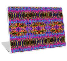 Time is but a psychedelic ripple in the fabric of existence Laptop Skin