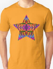 Time is but a psychedelic ripple in the fabric of existence Unisex T-Shirt