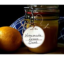 Lemon Curd  Photographic Print