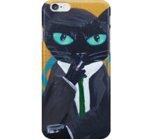 Mad Men 60's smoke drink office new york Don iPhone Case/Skin