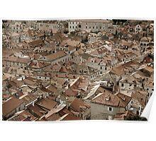 Terracotta Dubrovnik 2 Poster