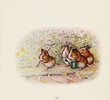 Cecily Parsley's Nursery Rhymes Beatrix Potter 1922 0053 Guinnea Pigs We Have a Little Garden by wetdryvac