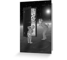 Black & White Collection -- Child's Play Greeting Card