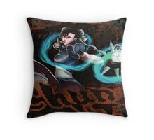 Chun Li Street Fighter Throw Pillow