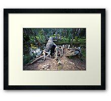 Fallen Giants Framed Print