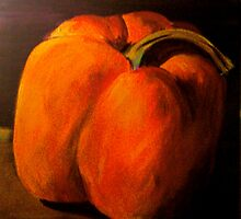 Orange Pepper by annewelford